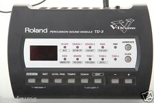 Roland TD3 Electronic Drum Kit Module / Brain, Mount & Power Supply