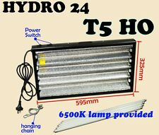 T5 4 X 24W 6400K (GROW) FLURO LIGHT + SERIAL PORT PROPOGATION HYDROPONIC LAMP