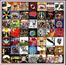 THE GREAT MUSIC BANDS BLOTTER ART PSYCHEDELIC LSD ACID FREE PAPER 900 SQUARES