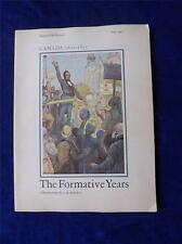 IMPERIAL OIL REVIEW BOOK CANADA 1812-1871 HISTORY FORMATIVE YEARS VINTAGE 1967