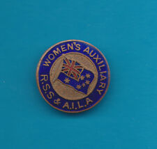 Australian Womens Auxiliary Returned Soldiers Sailors Badge Pin Intact Nice