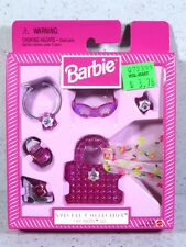 NIB BARBIE DOLL 1998 SPECIAL COLLECTION CITY PRETTY SET ACCESSORIES PINK
