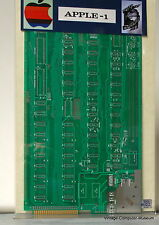 Apple I Computer Motherboard w/Schematics Signed by WOZ w/copy of Partnership!!