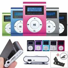 Clip Mp3 Player LCD Screen Recorder Support Micro SD/TF Card 8/16GB/32GB+gift