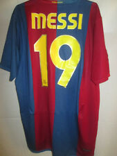 "Barcelona 2006-2007 Messi 19 Home Football Shirt Size Large 42""-44"" /15134"