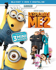 New and sealed Despicable Me 2 Blu-ray Disc, 2015, 2-Disc Set, with Digital Copy