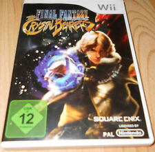 Wii jeu FINAL FANTASY CRISTAL BEARERS