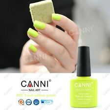 002 CANNI FRESH YELLOW - GREEN UV LED SOAK OFF GEL COLORS NAIL ART UK SELLER