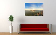 NEW YORK CITY SUNRISE PANORAMA NEW GIANT LARGE ART PRINT POSTER PICTURE WALL