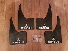 Sportflaps ANTERIORE MITSUBISHI - 4x ANTIBECCHEGGIO SET COMPLETO + VITI