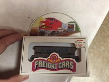BACHMANN N SCALE, 41' OLD TIME WOOD REEFER CAR, KRAFT Unpunched Tab Rare