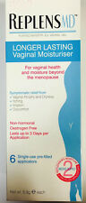 REPLENS MD LONGER LASTING VAGINAL MOISTURISER - 6 SINGLE APPLICATORS