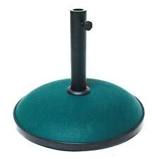 Sonnenschirmständer rund Petrol/Grün Sonnenschirm Ständer 30 kg Schirmständer