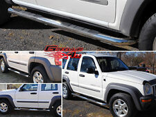 "3"" NerfBar Stainless Steel FOR 2002-2007 JEEP LIBERTY (W/O MUDFLAPS)"