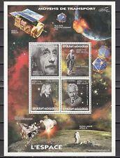 + Malagasy Rep., 1999 Cinderella issue. Albert Einstein sheet of 4.
