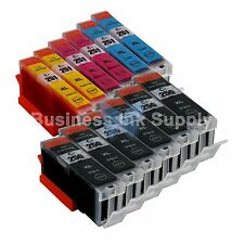 12 PACK PGI-250 CLI-251 Ink Tank for Canon Printer Pixma MX722 MX922 MG5420 6PGI