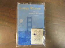 "NEW SEALED ""George Winston"" Linus & Lucy  Cassette Tape (G)"