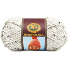 Lion Brand Hometown USA Bulky Weight Yarn in Aspen Tweed