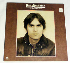 Eric Andersen: Be True to You  [Unplayed Copy- White Label Promo]
