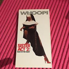 Sister Act 2: Back in the Habit (VHS, 1994) WHOOPI GOLDBERG