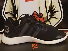 Adidas Y-3 Yohji Run Boost Size 6.5 Men / 7.5 Women Black Boost BB4865 EU 39.5