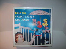 Dolly Toy Co~May 30 1972~Animal Shower Crib Mobile~Instruction~3+~Made In USA~40