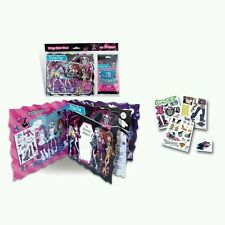6 x monster high album collection 16 pages & 28 autocollants, parti filles cadeau, offre