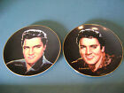 ELVIS PRESLEY COLLECTOR PLATES-PORTRAITS OF THE KING / PLATE 3&4