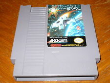 Destination Earthstar Game f. NES Original Nintendo Entertainment System Acclaim