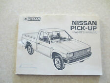 1985 Nissan pickup owner's manual