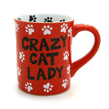 Crazy Cat Lady Mug - Our Name is Mud by Lorrie Veasey