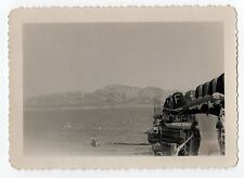 ORIGINAL WWII Photograph PHOTO Aircraft Carrier US NAVY Jets PLANES Naval EUROPE