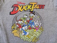 Original WALT DISNEY DUCK TALES UNISEX DONAL DUCK FLASHING CASH T-Shirt XL
