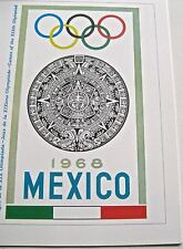 Olympic  Games 1968 Mexico City  Official Poster Reprint  16x12  1 of 2 Posters