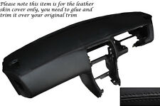 BLACK LEATHER DASH DASHBOARD SKIN COVER FITS NISSAN S14 200SX 1994-1999