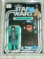 Vintage Star Wars KENNER 1978 AFA 75 DEATH SQUAD COMMANDER ANH 20 BACK MOC CLR B