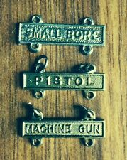 US Army Military Qualification Small Bore - Pistol - Machine Gun range bars 1""