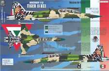 Aztec Decals 1/72 NORTHROP F-5E TIGER II-XCI Mexican Air Force