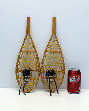 Snow Shoes Mini  Childs Awesome Display Made in Canada Original Leather