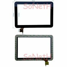 "Vetro Touch screen Digitizer 10,1"" Mediacom Smartpad MP101 S2 PB101JG8701 Nero"