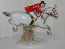 VINTAGE ROYAL VIENNA WIEN AUGARTEN DAPPLED GREY HUNTER HORSE FIGURINE