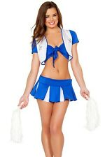 Sexy Adult Sports Cheerleader Costume - Fancy Dress Cosplay Uniform Outfit C98