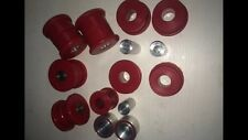 BMW E36 Rear Subframe Trailing Arm & Diff Mounts RED Poly