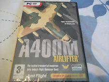 A400M AIRLIFTER air lifter PC-DVD NEW SEALED ( expansion for flight sim 2004 )