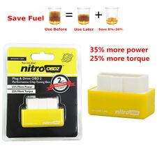 New OBD2 Performance Tuning Chip Box For Saver Gas/Petrol Vehicles Plug & Drive