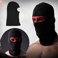 Black Cycling Bike Outdoor Head Neck Full Face Mask Cover Hat Protection Cap GY