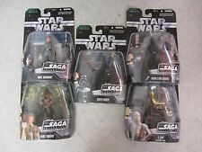 Star Wars ~ The Saga Collection ~ Lot Of 5 Figures Battle of Endor ~ Hasbro 2006
