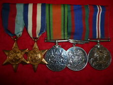 """Canadian """"Normandy Campaign"""" Medal Group of (5) WW2 Medals"""