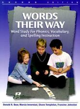 Words Their Way: Word Study for Phonics, Vocabulary, and Spelling Instruction (2