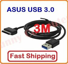 3M USB Data Sync Charge Cable For ASUS Transformer TF300 TF300TL SL101 TF700T
